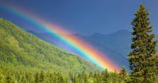 Iridium is named for Iris, the goddess of rainbows.