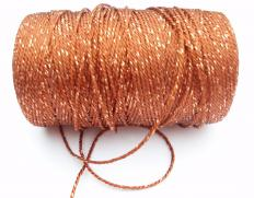 Rayon yarn made of viscose.