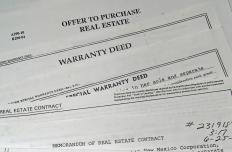 Real estate documents.
