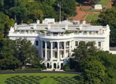 The U.S. President resides in the White House.