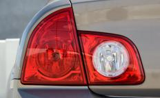 Fix-it tickets may be given for faulty tail lights.