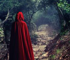 Fairy tales, like Little Red Riding Hood, are considered traditional stories.