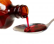 Hydrocodone syrup may become addictive.