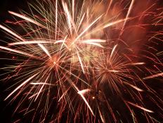 Magnesium powder, which produces a white light when ignited, is often used in fireworks.
