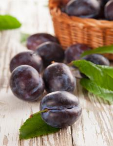 The plum season varies depending on the region and climate in which they are grown.