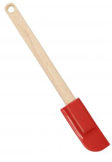 A spatula is a common cooking tool that comes in a variety of sizes and has several uses.