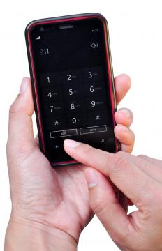 Some cell phone bills may include a small surcharge for access to 911 calls.