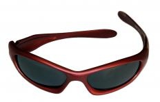 Wearing sunglasses can help protect a scratched eyeball.
