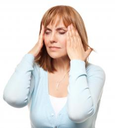 Too much stress and anxiety can lead to tension headaches.
