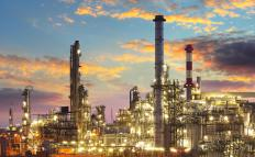An energy or oil industry subindex may keep track of companies that own oil refineries.
