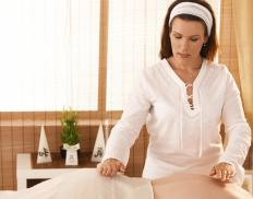 Reiki is a method of spiritual-based healing using touch.