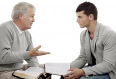 Pastoral counselors may help people struggling with psychological issues.