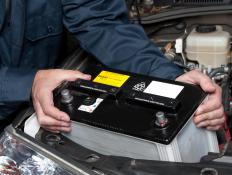 An automotive multimeter can check a car's battery's levels.