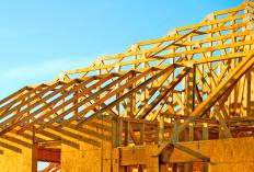 Spruce lumber is frequently used for house construction.