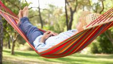 When choosing a tree hammock, make sure it is wide enough to sleep in comfortably.