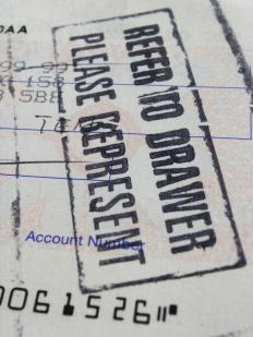 The most common example of a pay to order system is a check.