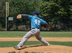 In order to throw a curveball, a pitcher must move his arm in an unnatural motion that puts stress on the shoulder and elbow.