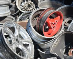 Vehicle recycling involves reusing parts from old vehicles.