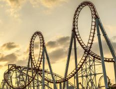 Most amusement parks have several varieties of roller coasters to attract customers.