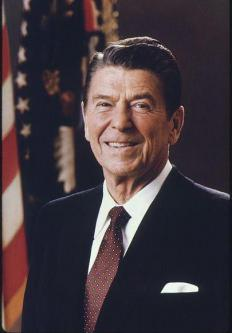 Ronald Reagan was a well-known conservative president.