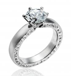 Tiffany & Co. sells engagement rings.