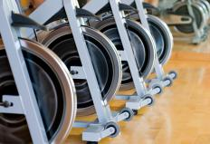 An exercise bike is a type of isokinetic machine.