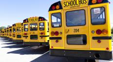 A school bus may be a site for bullying.