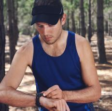A digital watch for sports can enhance sporting activities, such as a stopwatch and timer used when running.