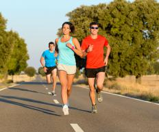 People training for marathons must run for extended periods of time.