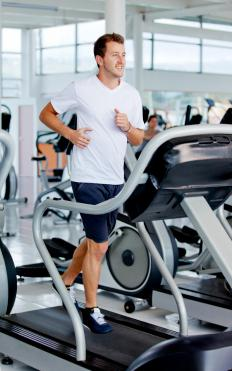 A treadmill is a type of cardio fitness equipment.