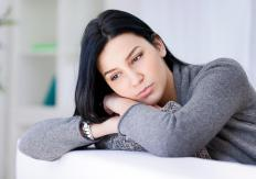 Depression and sleeplessness are some symptoms of a serotonin imbalance.