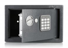 Some safes are equipped with an electronic lock.