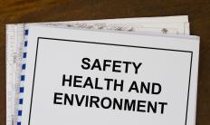 Occupational health and safety laws often specifically address chemicals.