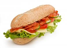 Lunch meats are used in po' boy sandwiches, subs, and hoagies.