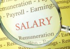 Large organizations may use the services of an outside company to perform salary benchmarking.