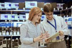 On-the-job sales training is common in the retail sales industry.