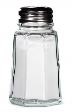 Eating lots of salt can cause bloating and swelling.