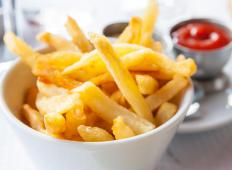 In Canada, cheese curds are used to top French fries.