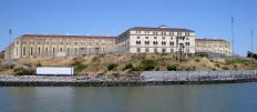 San Quentin State Prison, which houses the only death row for male inmates in California.
