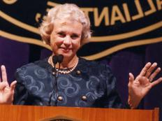 Retired Associate Justice of the U.S. Supreme Court Sandra Day O'connor was once a member of the Junior League.