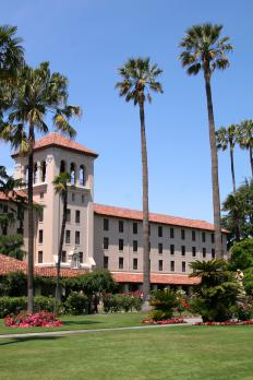 Santa Clara University is one of many universities in Silicon Valley.