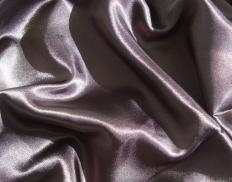 A closeup of a deep pocket sateen sheet.
