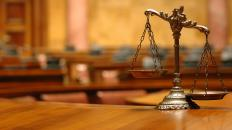 A legal party might enter a motion for judgment to bring a case to a close.