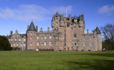 Scotland is home to many historic buildings and castles.