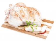 Sumac powder is often found in Greek spice rubs used to flavor chicken before grilling.