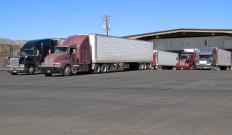 A trucking dispatcher is responsible for monitoring the movement of trucks and freight to and from various locations.