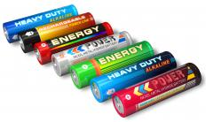 Batteries produce direct current (DC) electricity.