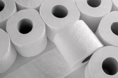 Housekeepers at a hotel make sure rooms have plenty of toilet paper for guests.
