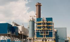 Water plants and sewage treatment plants are typically owned by municipal governments.