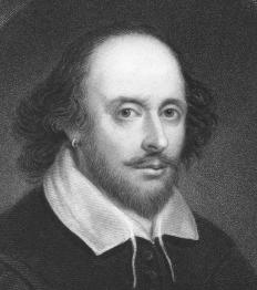 People may be be found dressed up as William Shakespeare at a Renaissance festival.